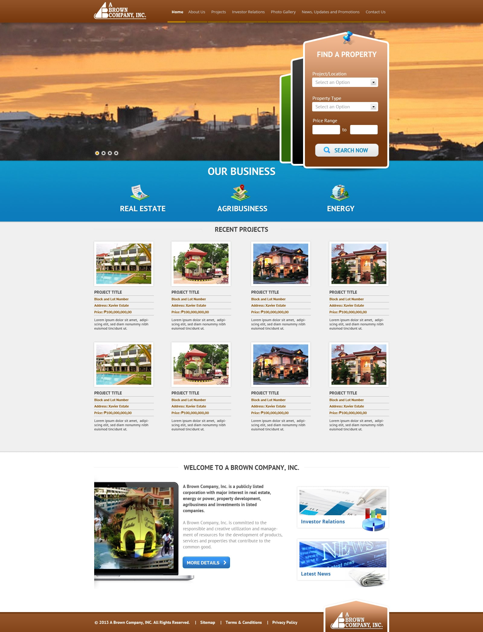 Professional Web Design and Development Portfolio - Syntactics, Inc