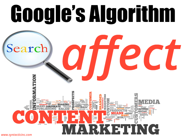 How Google's Algorithm Updates Affect the Content Marketing Industry