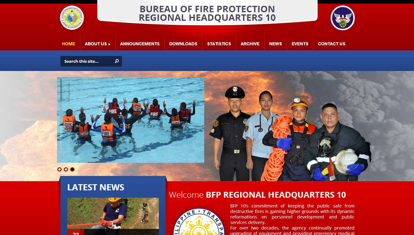 Bureau of Fire Protection Regional Headquarters 10