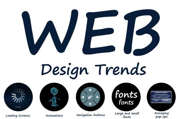FIVE Bad Web Design Trends That Are Making A Comeback