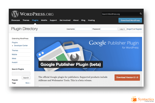Verify Your WordPress Site and Manage Your AdSense through Google Publisher Plugin