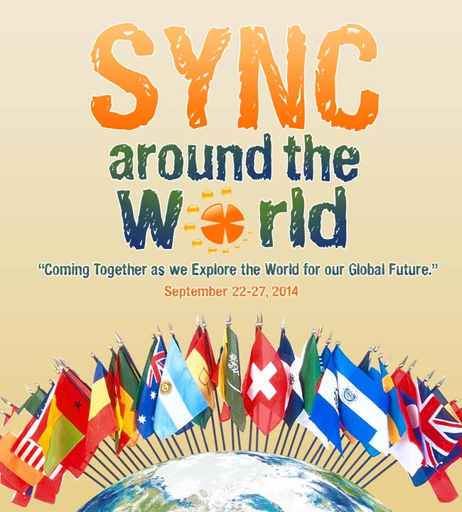 "Get Ready For An International Tour! It's Time for ""Sync Around the World""!"