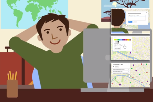 Put Yourself on the Map Using Google's My Maps and My Maps Pro!