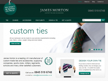 James Morton Ties