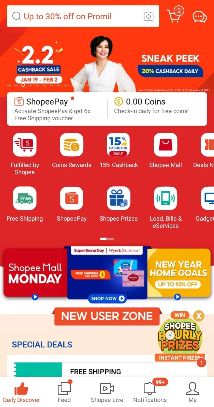 Shopee How the Website-Mobile App Combination Works Shopee Mobile App