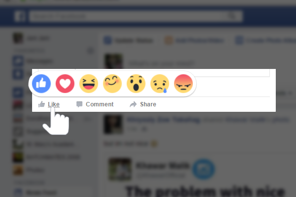 Facebook Reactions Seen In PH