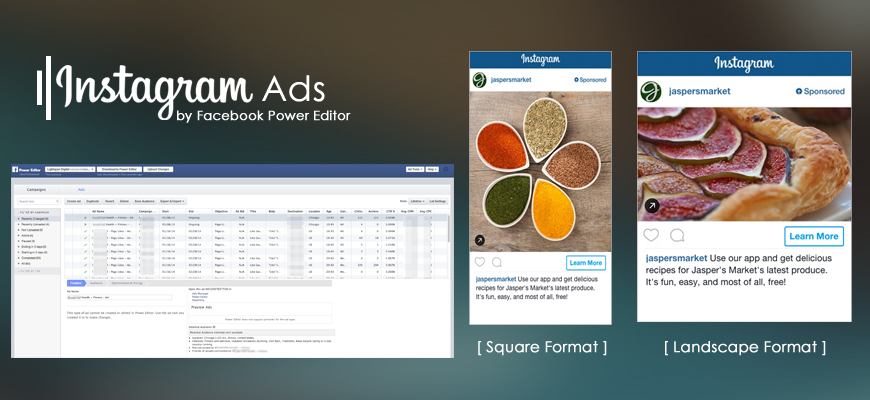 Instagram Ads: Create with Facebook