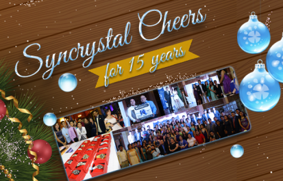 Syncrystal Cheers for 15 Years – a Dazzling Christmas Night for Syntactics