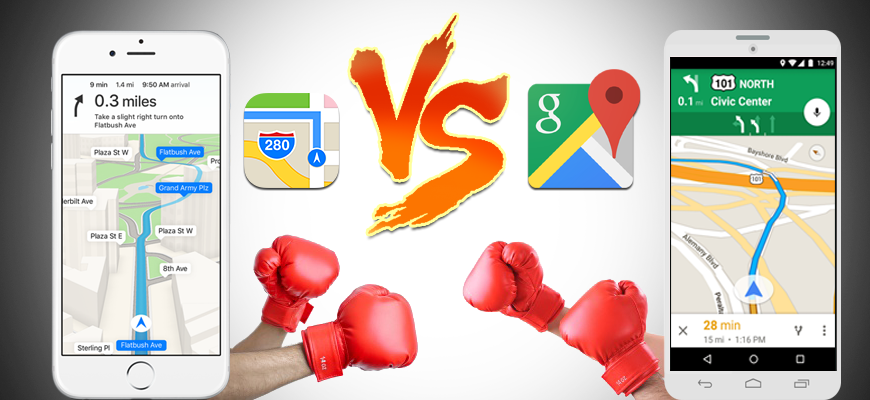 Apple Maps vs Google Maps: Yet Another Chapter in an Epic Tech Saga