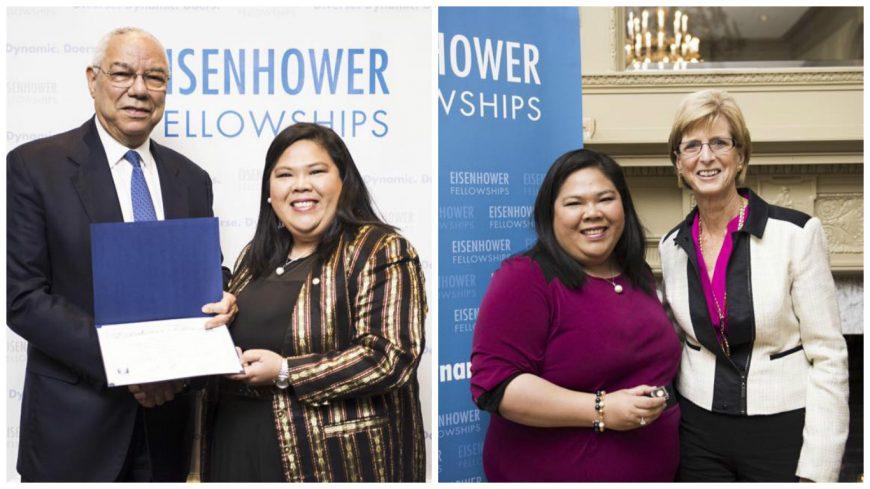 Filipino Technopreneur Named as Eisenhower Fellowships Douglas Dillon Named Fellow