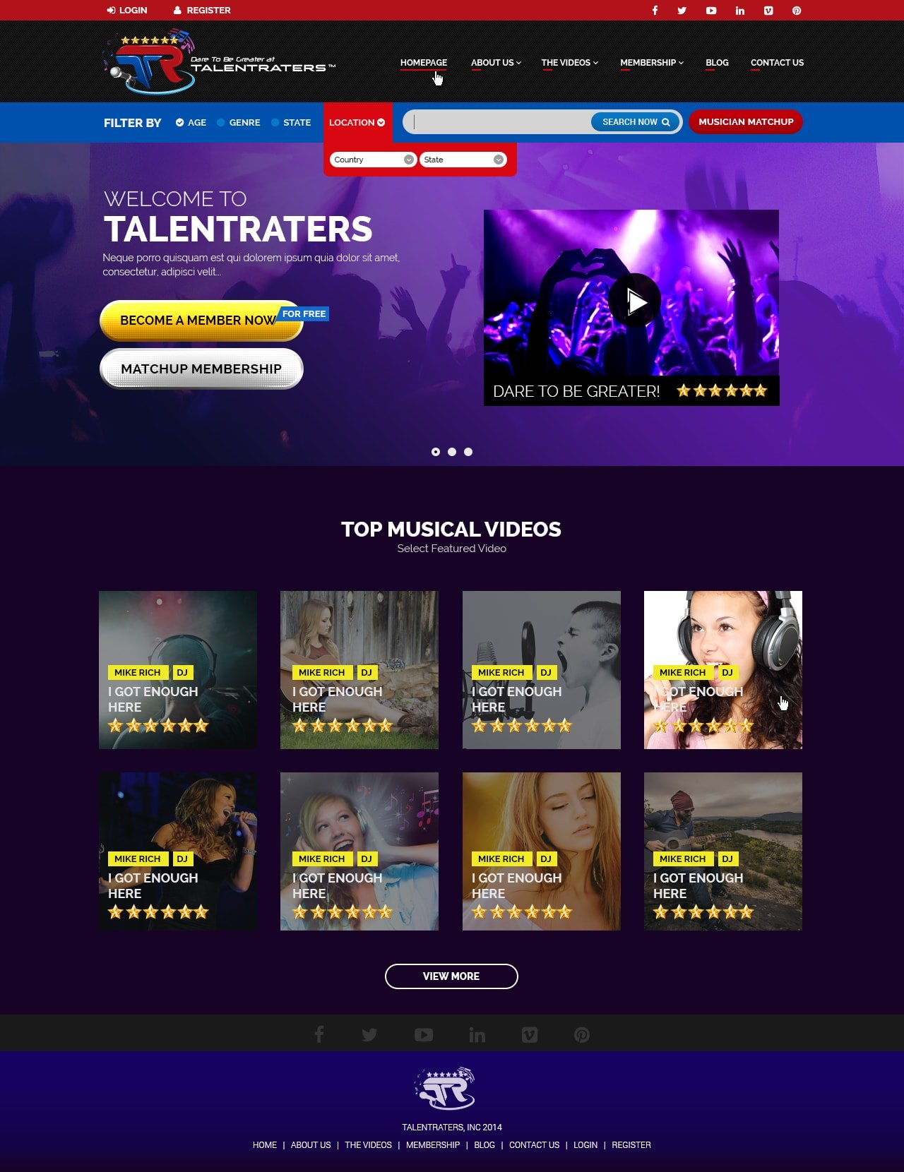 Talent Raters