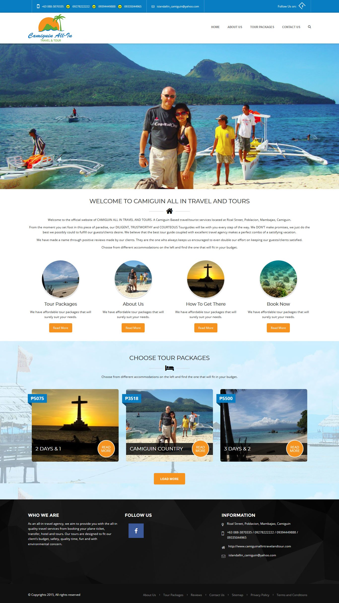 Camiguin All in Travel and Tour