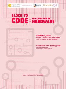 Block to Code Introduction of Hardware