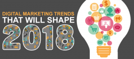 Digital Marketing Trends That Will Shape 2018