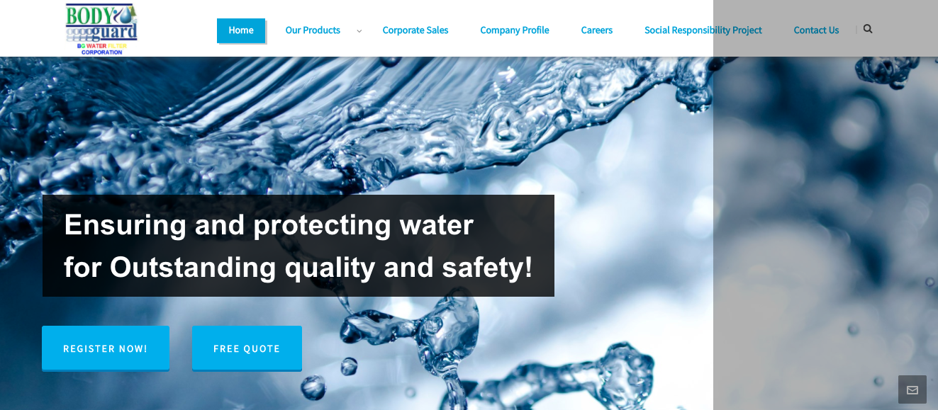 BG Water Filter