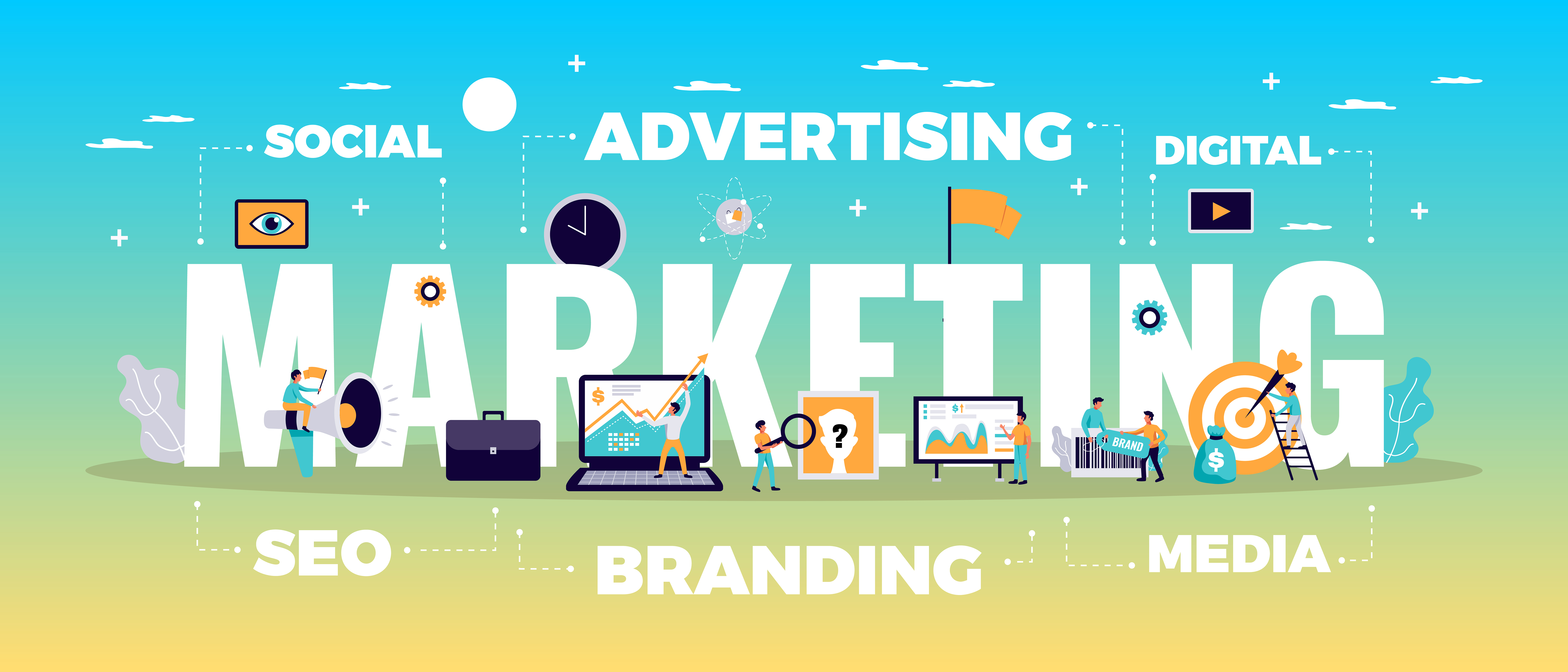 How Your Business Digital Marketing Strategy Works Marketing Advertising Branding Social SEO Digital Media