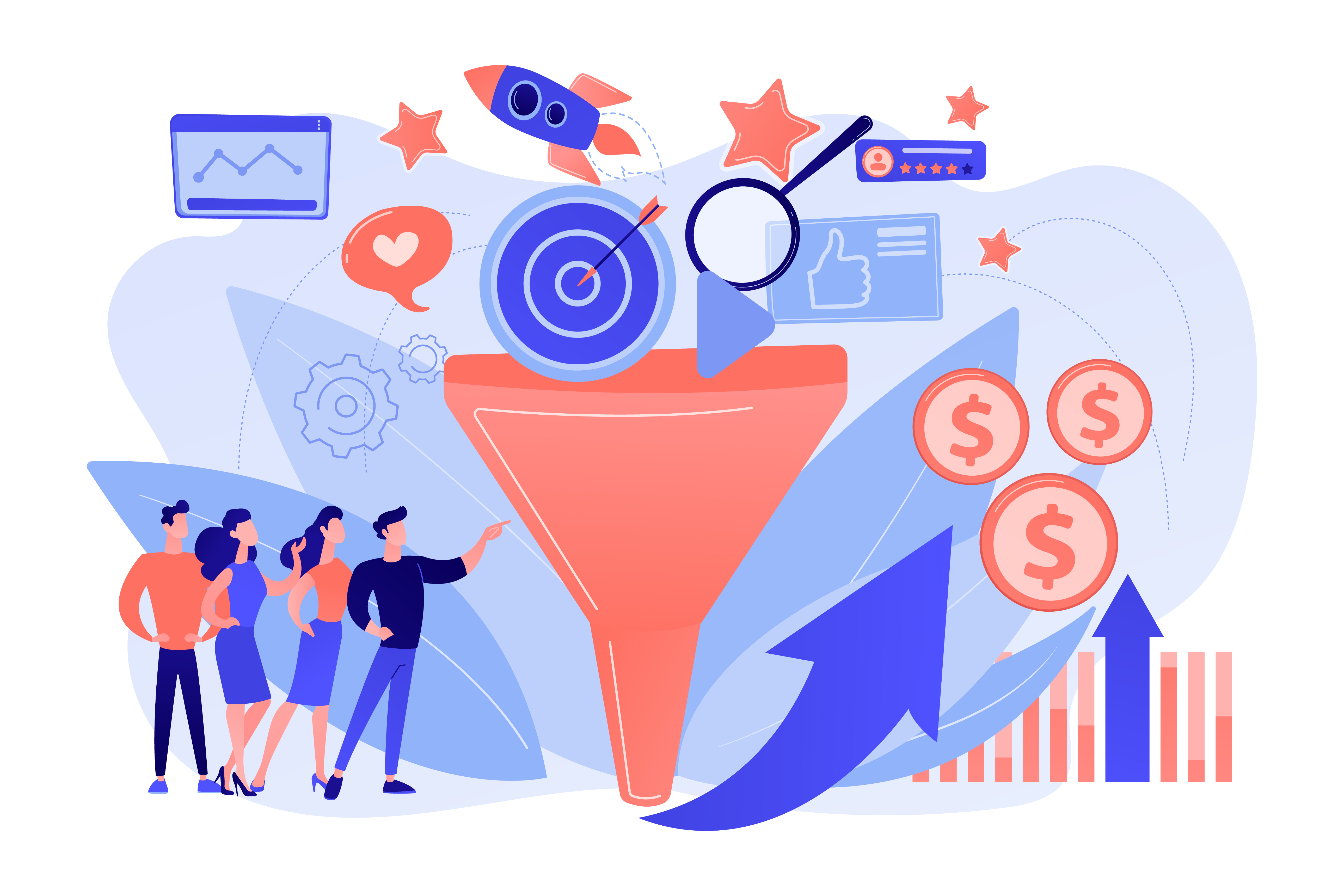 Increase Conversion with Website Personalization Marketing Experts Analyze Customer Funnel For More Sales