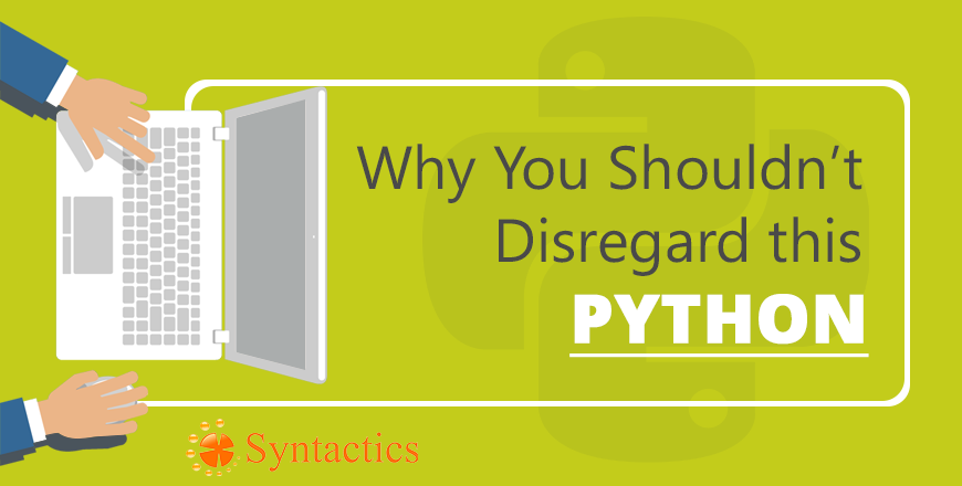 Why You Shouldn't Disregard THIS Python