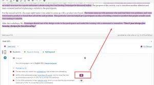 yoast readability analysis tab