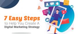 7 Easy Steps to Help You Create A Digital Marketing Strategy