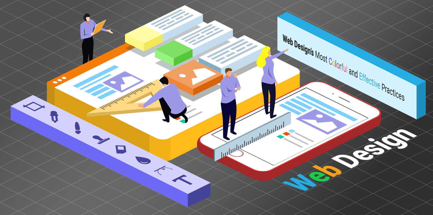 Web Design's Most Colorful and Effective Practices
