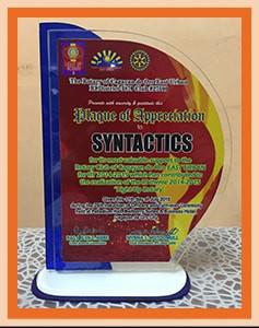 2015 Plaque of appreciation - Rotary of Cagayan de oro east urban-min