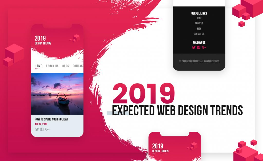 Web Design Trends to Expect in 2019 - Syntactics Inc