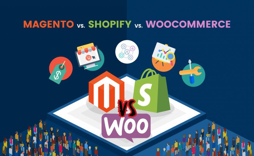Magento vs Shopify vs WooCommerce v2.1