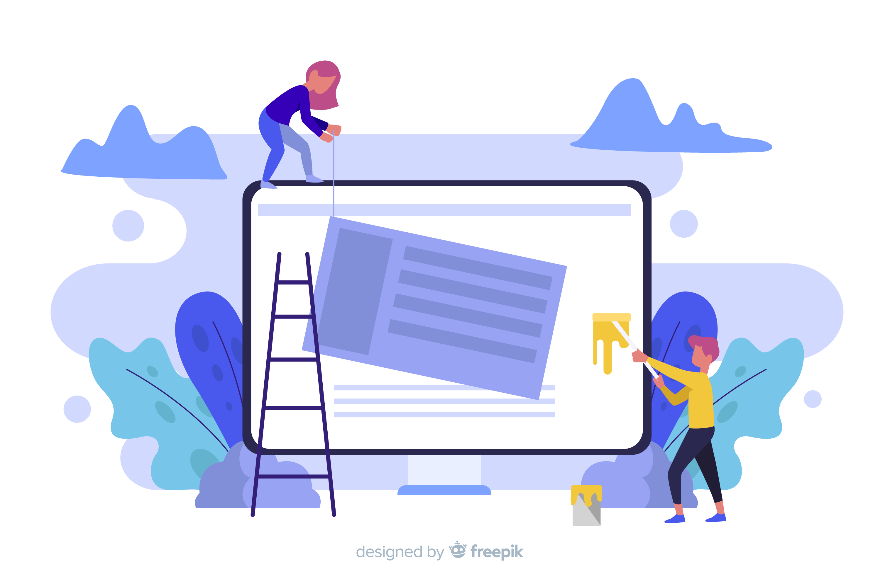 Web Design Trends and Inspiration in 2021 Web Homepage Setup