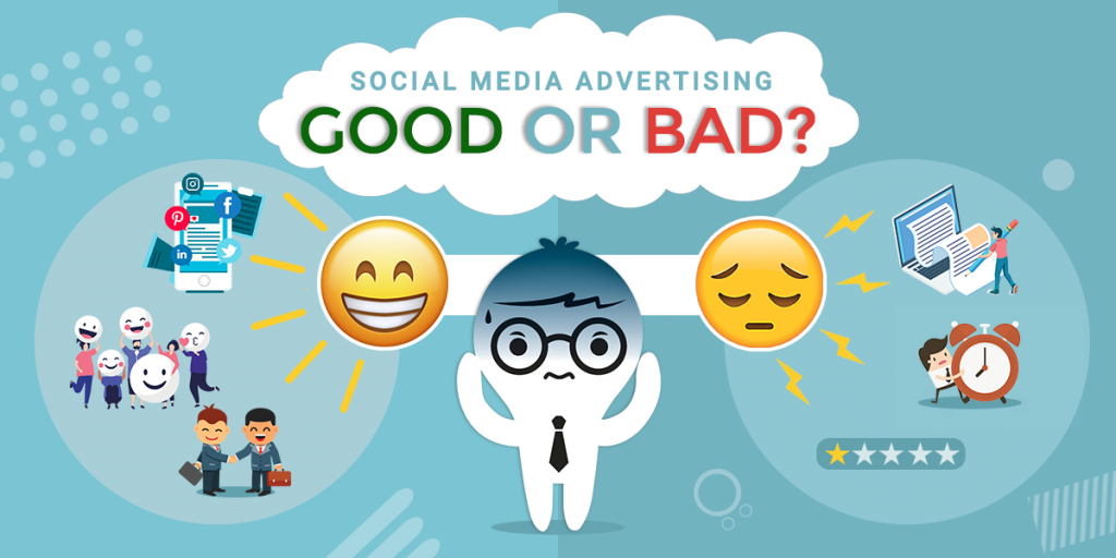 Social Media Advertising Pros and Cons - Syntactics Inc