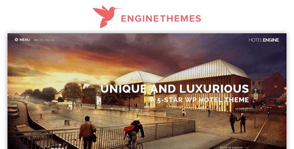 hotelengine classic by enginethemes