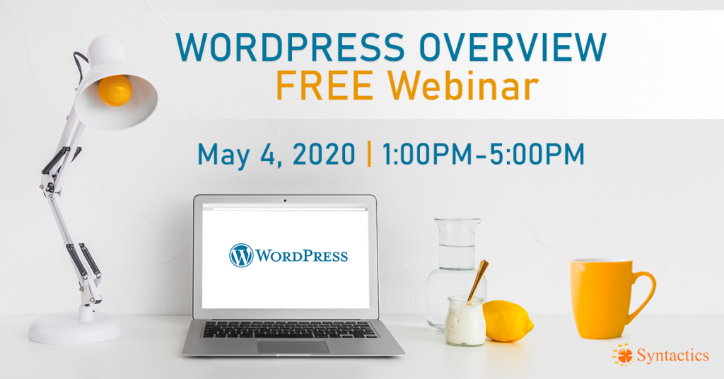 WordPress Overview Free Webinar
