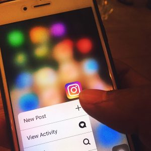 instagram icon showing option for adding new post after digital event