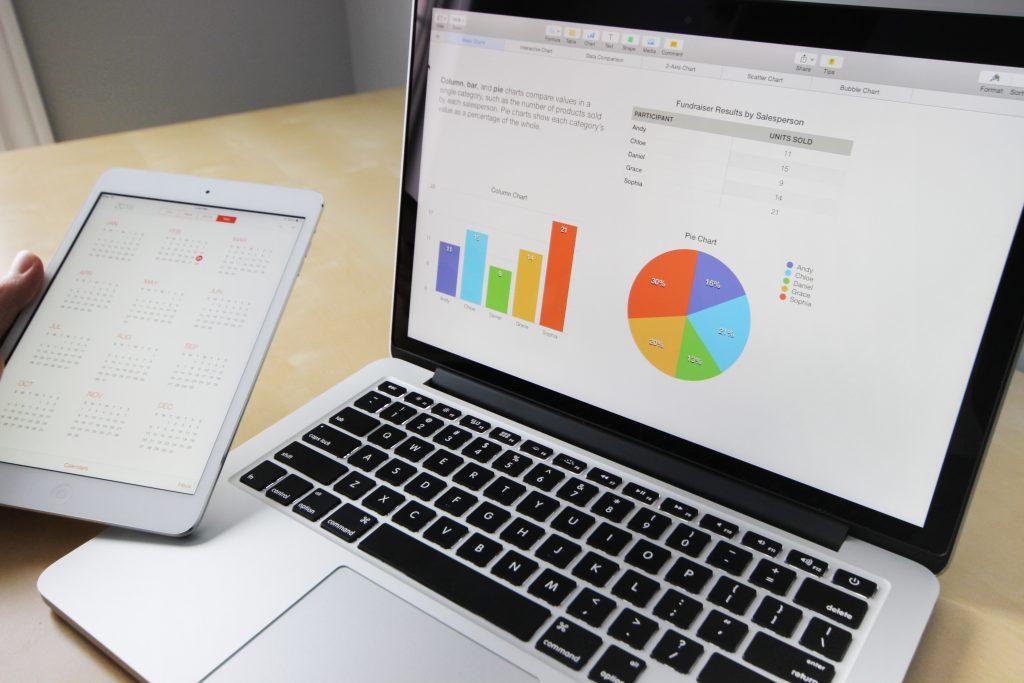 business charts and analytics