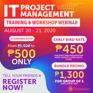 IT PM Training & Workshop