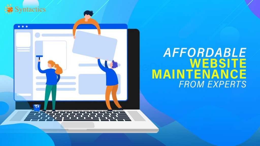 website maintenance experts