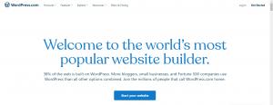 WordPress Website Development Start Your Website