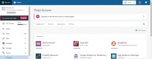WordPress Website Development Install Plugins