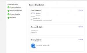 Review business details