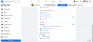 Add FB Messenger to Your Website Retrieve Facebook Page ID