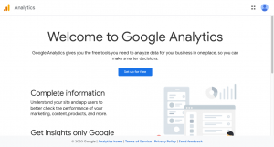 Update Google Analytics Tag Register to Google Analytics