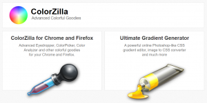 Google Chrome Extension ColorZilla