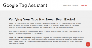 Google Chrome Extension Google Tag Assistant