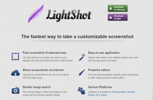 Google Chrome Extension Lightshot