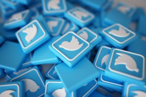 Use Twitter Ads in Promoting Business Campaigns Twitter logos pile