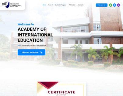 AIE MMIX V1 1. Homepage