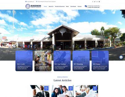 Bukidnon Community Cooperative V2.5 Home
