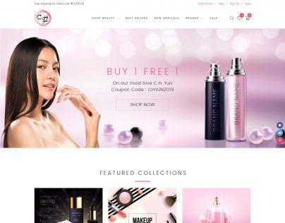 C.H. Yun 1. Homepage