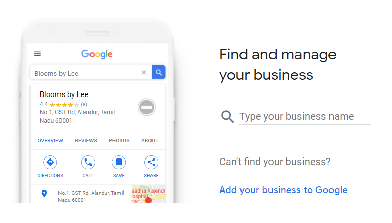 How to Set Up Your Google My Business Account 01 Find Your Business
