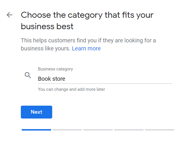 How to Set Up Your Google My Business Account 03 Enter Category of Business
